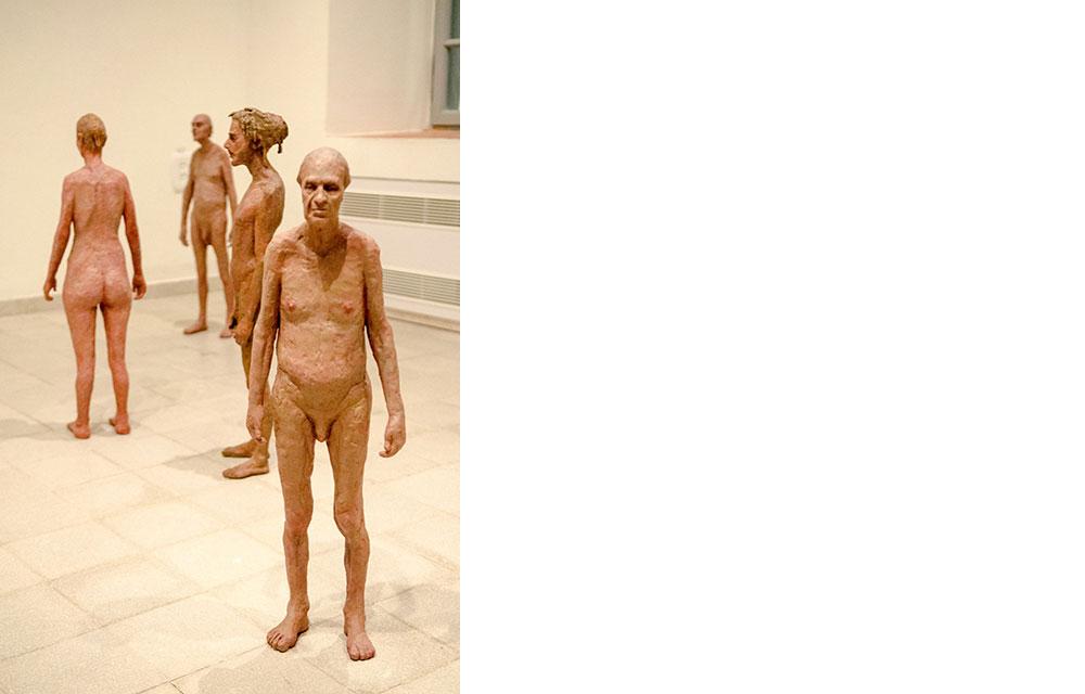 פסלי אלומיניום צבועים, 2013