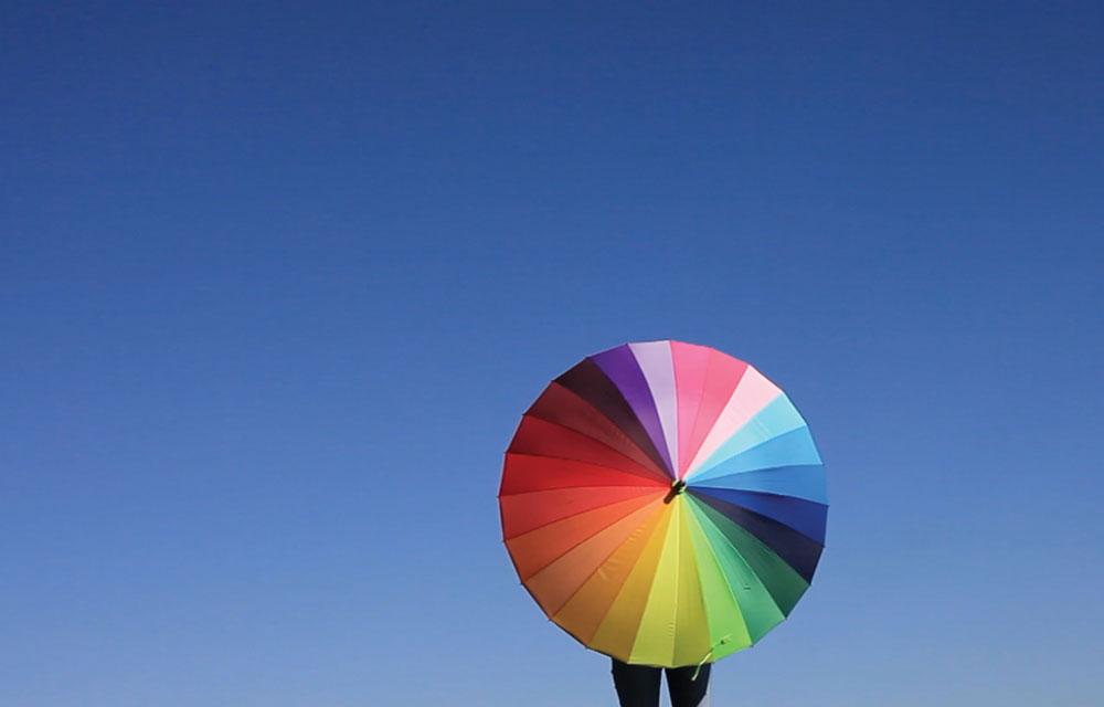 In Rainbow, HD video, 2014